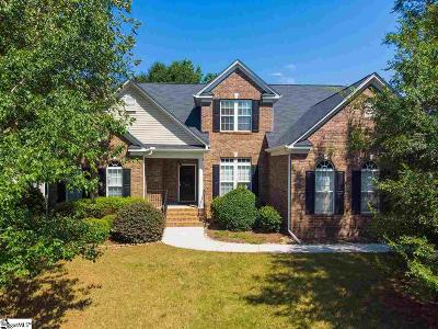 Simpsonville Single Family Home For Sale: 300 Winding River