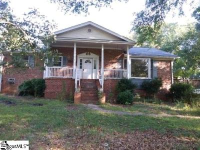 Easley SC Single Family Home For Sale: $90,000