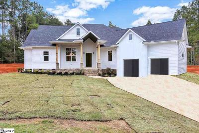 Easley SC Single Family Home For Sale: $449,500