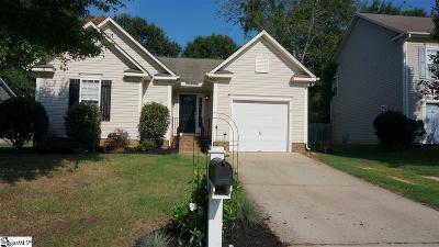 Simpsonville Single Family Home For Sale: 110 Morell