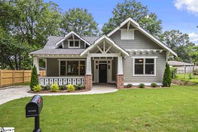 Greer Single Family Home For Sale: 102 Mulberry