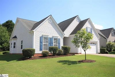 Simpsonville Single Family Home For Sale: 122 Lantana