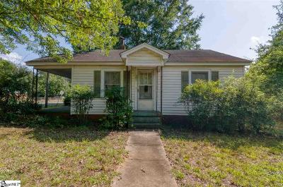 Anderson Single Family Home For Sale: 501 Manley