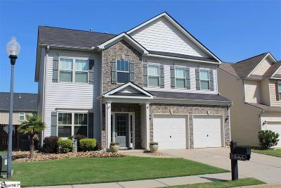 Simpsonville Single Family Home For Sale: 335 Barrett Chase