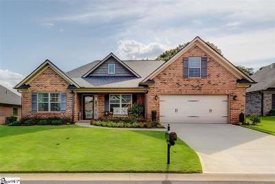 Greer Single Family Home For Sale: 109 Pleasant Meadow