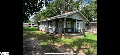 Greenville SC Single Family Home For Sale: $30,000