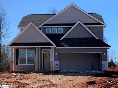 Greer Single Family Home For Sale: 104 Timber Glen #Lot 21