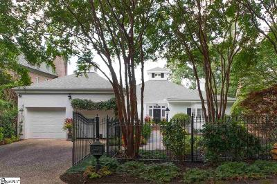 Greenville Single Family Home For Sale: 222 Hidden Hills