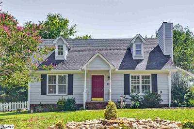 Simpsonville Single Family Home For Sale: 207 Polo