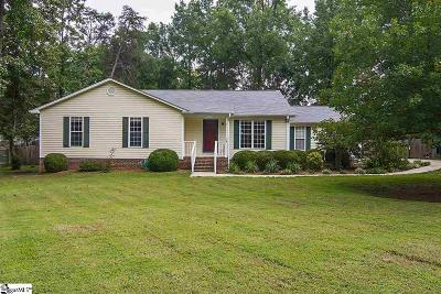 Simpsonville Single Family Home For Sale: 15 Quail