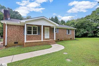 Greer Single Family Home For Sale: 507 Timberlane