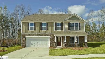 Simpsonville Single Family Home Contingency Contract: 1110 Downing Bluff