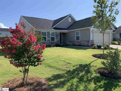 Greenville Single Family Home For Sale: 108 Fairmeadow