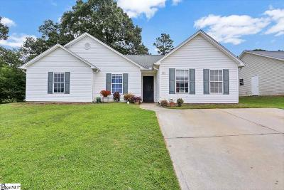 Greenville SC Single Family Home For Sale: $160,000