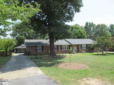 Greenville SC Single Family Home For Sale: $263,000