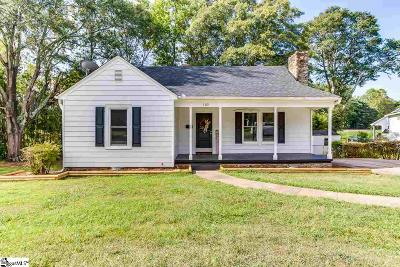 Greer Single Family Home For Sale: 105 Connecticut