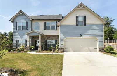 Simpsonville Single Family Home For Sale: 413 Aschoff
