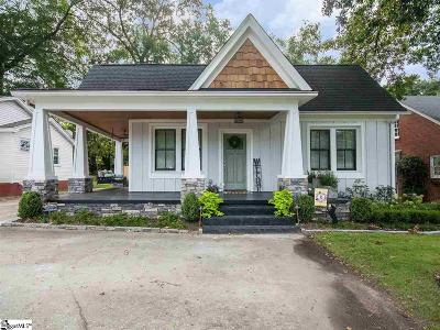 Greenville Single Family Home For Sale: 205 W Faris