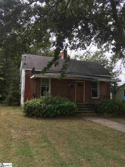 Clinton Single Family Home For Sale: 307 Elizabeth