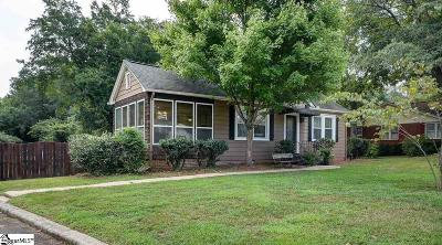 Travelers Rest Single Family Home Contingency Contract: 14 S Poinsett