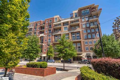 Greenville Condo/Townhouse For Sale: 111 E McBee #208