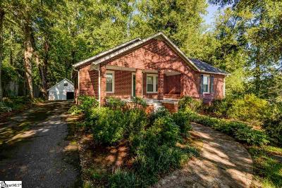 Travelers Rest Single Family Home Contingency Contract: 3451 Tigerville