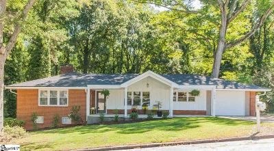 Anderson Single Family Home Contingency Contract: 140 Tanglewood