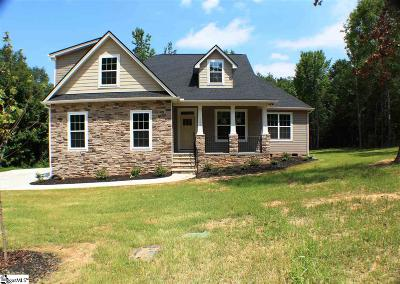 Pelzer Single Family Home Contingency Contract: 106 McKenna #Lot 41