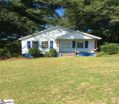 Piedmont Single Family Home Contingency Contract: 642 Old Pelzer
