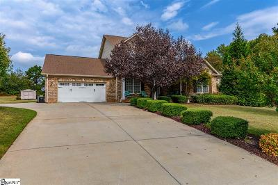 Greer Single Family Home For Sale: 414 Mellow