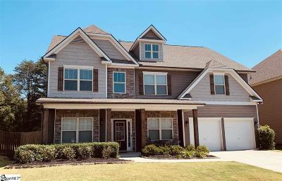 Greer Single Family Home For Sale: 144 Sandpine