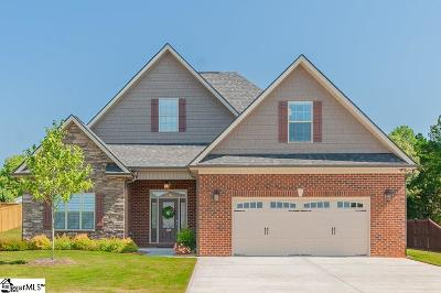 Greer Single Family Home For Sale: 109 Meadowdale