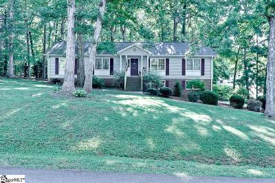 Easley Single Family Home Contingency Contract: 104 Vine