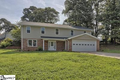 Mauldin Single Family Home For Sale: 113 Brandybrook
