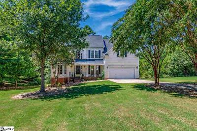 Simpsonville Single Family Home For Sale: 5 Spring Moss