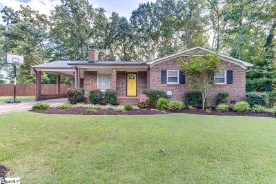 Piedmont Single Family Home Contingency Contract: 1246 Tall Oaks