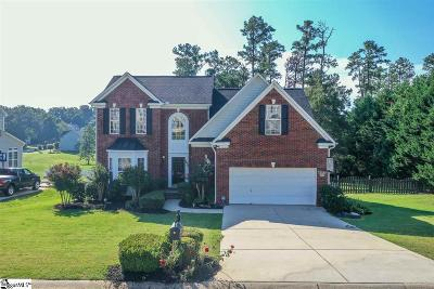 Simpsonville Single Family Home For Sale: 108 Carsons Pond