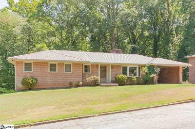 Anderson Single Family Home For Sale: 206 Tanglewood