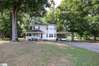 Pelzer Single Family Home For Sale: 9008 Augusta