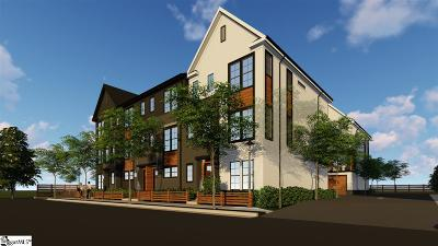Greenville Condo/Townhouse For Sale: 312 Echols #Unit 4