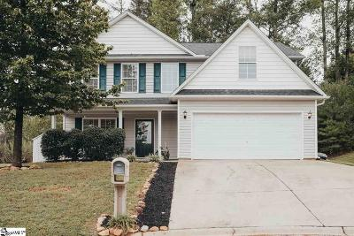Easley Single Family Home Contingency Contract: 109 China Berry
