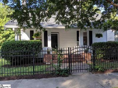 Greenville Single Family Home For Sale: 419 Pinckney