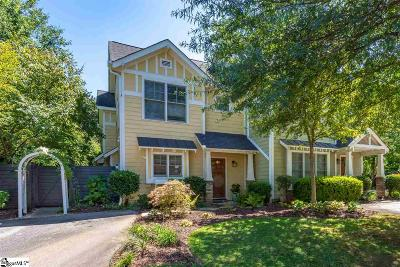 Greenville Condo/Townhouse Contingency Contract: 4 Cureton