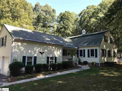 Laurens Single Family Home For Sale: 304 Tranquil