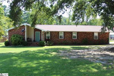 Anderson Single Family Home For Sale: 1040 Dickerson