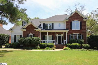 Simpsonville Single Family Home For Sale: 19 Hickory Chip