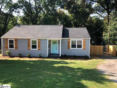 Greenville Single Family Home For Sale: 304 Gallivan