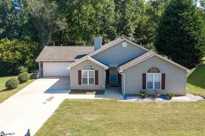 Simpsonville Single Family Home For Sale: 128 Kingfisher
