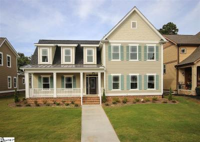Greer Single Family Home For Sale: 9 Stonewash