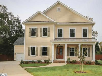 Greer Single Family Home For Sale: 236 Grandmont